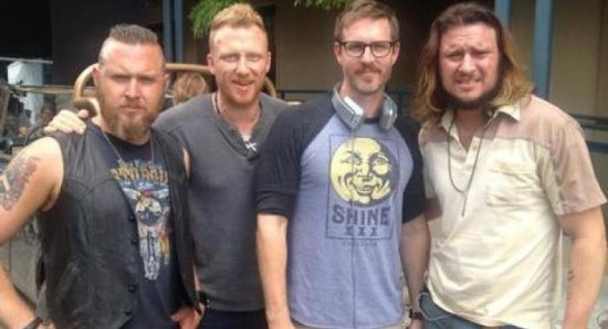 Kevin McKidd in North of Hell set pic