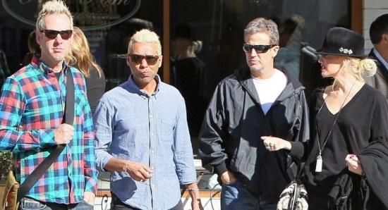 No Doubt out in West Hollywood