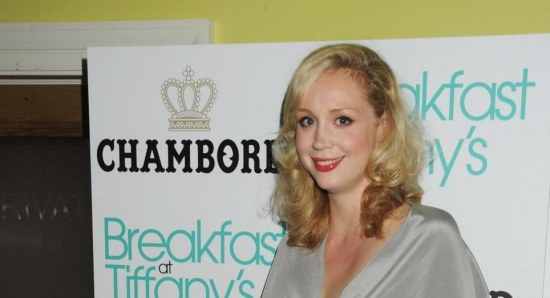 Gwendoline Christie at Tiffany's event
