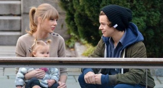 Harry Styles and Taylor Swift on their first public date
