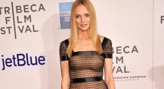 Heather Graham is also in the film