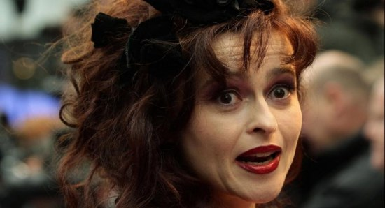 Helena Bonham Carter at the premiere of the last Harry Potter movie