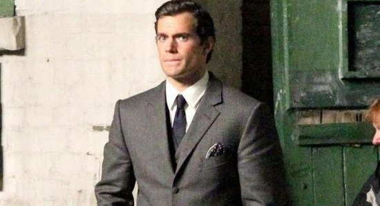 Henry Cavill looking as dashing as ever
