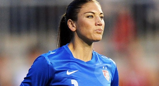 Hope Solo has equaled the record