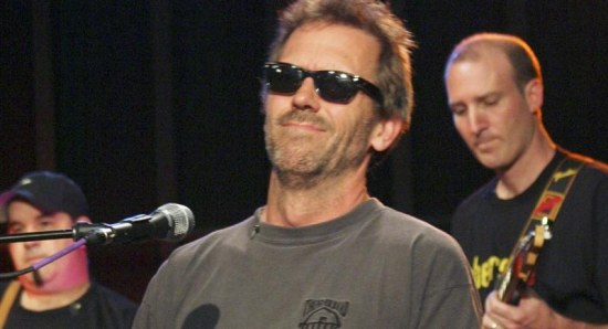 Hugh Laurie doing his music thing