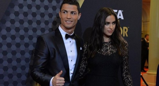 Irina Shayk and Cristiano Ronaldo split