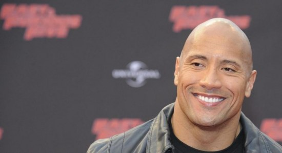 Dwayne Johnson on red carpet