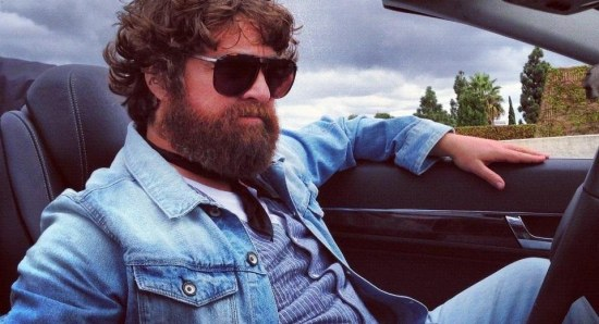 Zach Galifianakis is also in the film