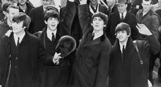 The Beatles in their prime