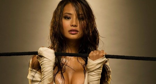Jamie Chung is a very busy star