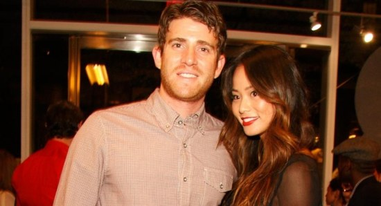 Jamie Chung with Bryan Greenberg