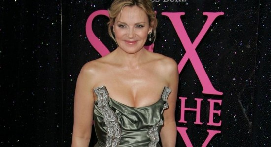 Kim Cattrall was not too impressed with Jamie Dornan