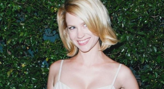 January Jones is ready to date actors again