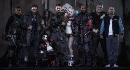 The Suicide Squad gang in costume