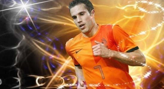 Robin Van Persie will play for Holland