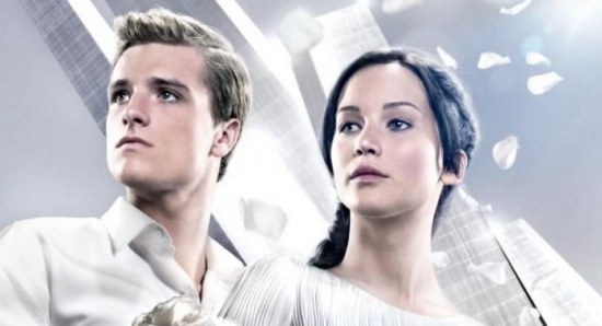 The poster for Catching Fire