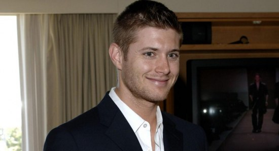 Jensen Ackles in black blazer