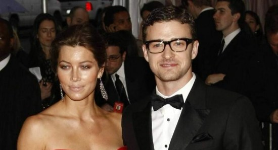 Jessica Biel and husband Justin Timberlake