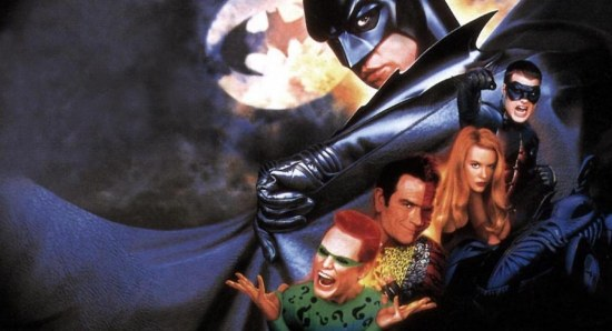 The Batman Forever cast