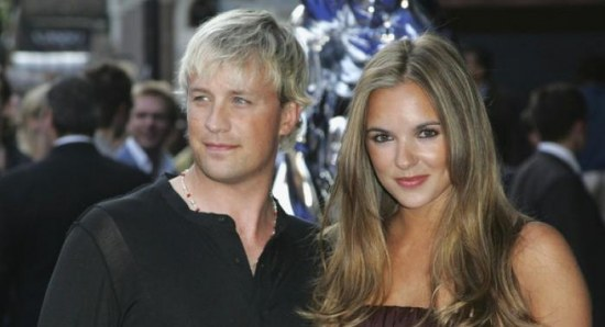 Jodi Albert with Kian Egan