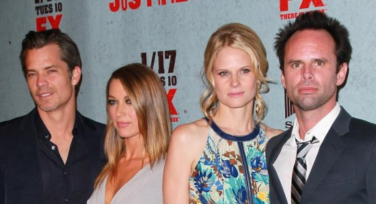 The cast of Justified