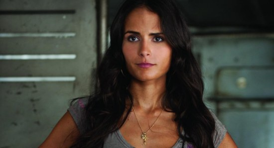 Jordana Brewster doing her acting thing