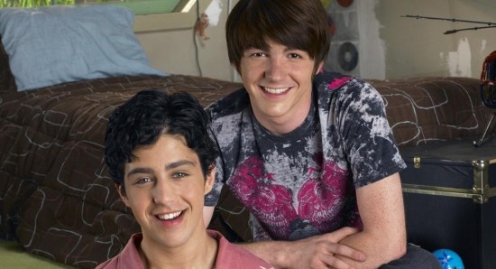 Drake Bell and Josh Peck on 'Drake and Josh'