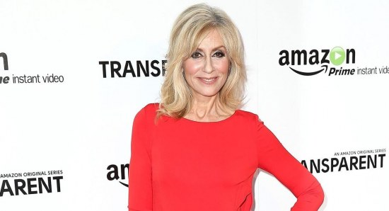 Judith Light looking great in red dress