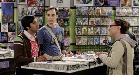Kunal Nayyar as Raj on The Big Bang Theory