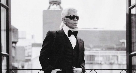 Karl Lagerfeld once made remarks about adeles weight