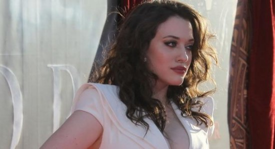 Kat Dennings at the Thor premiere