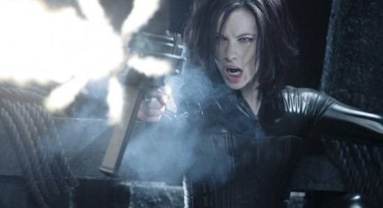 Kate Beckinsale has action experience