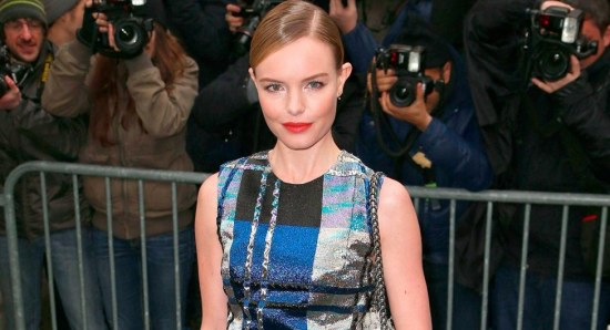 Kate Bosworth in multi-colored dress