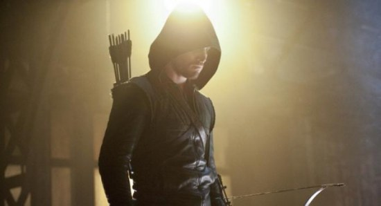 Stephen Amell stars as Oliver Queen in Arrow