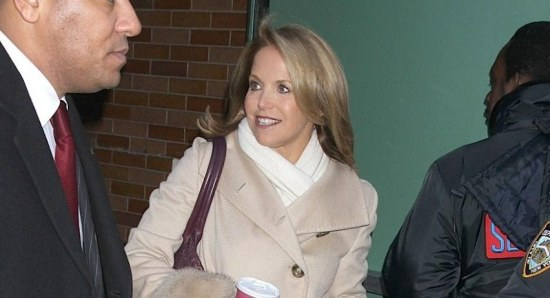 Katie Couric and Kim Kardashian seem to be in an unofficial feud