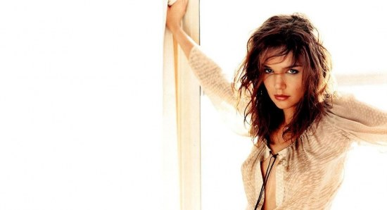 Katie Holmes in provocative model pose