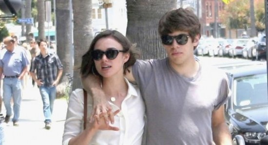 Keira Knightley out in London with James Righton