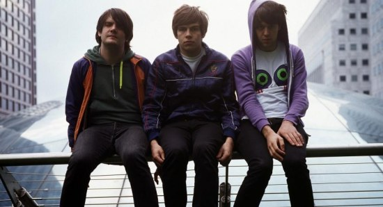 James Righton with the Klaxons