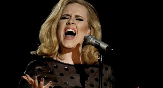Adele has an incredible singing voice