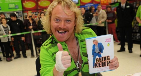 Keith Lemon gives it the thumbs up