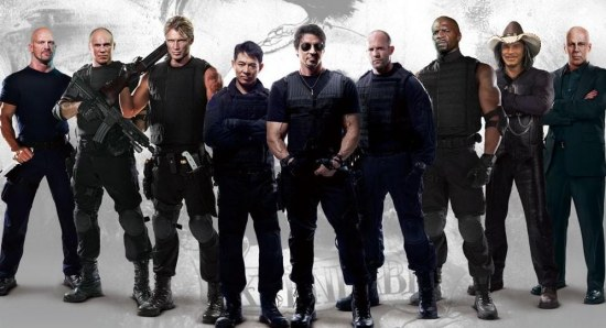 The old boys of The Expendables