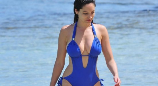 Kelly Brook has had some tough times