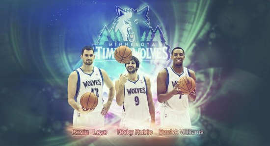 The Timberwolves didn't make the playoffs this season