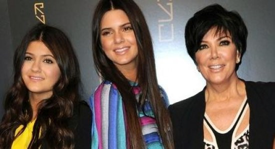 Kris Jenner with her other girls