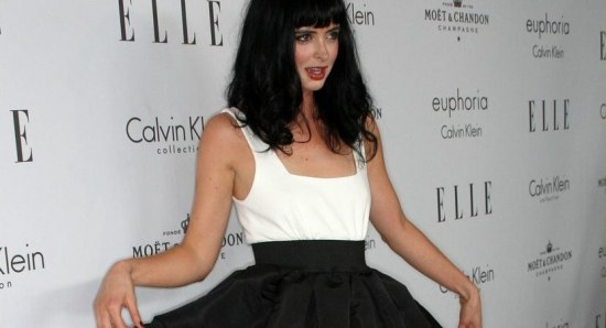 Krysten Ritter gives an interesting pose