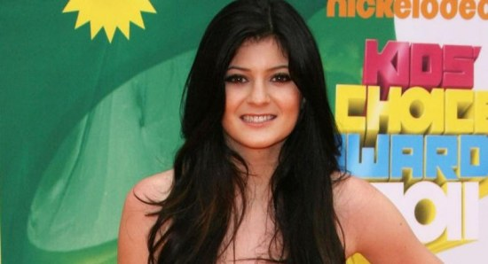 Kylie Jenner at the Kids Choice Awards