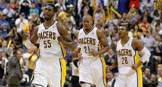 It's unkown if the Pacers will re-sign him