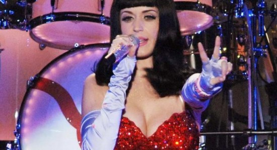 Katy Perry beat Lady Gaga to top spot