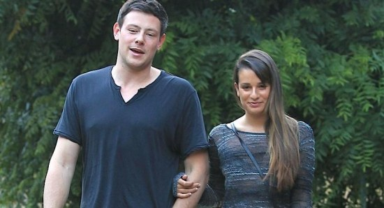 Lea Michele dated Cory Monteith