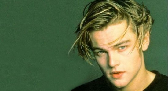 Leonardo DiCaprio when he was younger